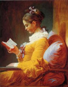 A Young Girl Reading, by Jean-Honoré Fragonard