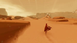 """Screenshot from """"Journey"""" by thatgamecompany."""