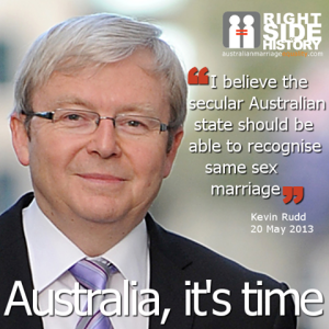 rudd marriage equality